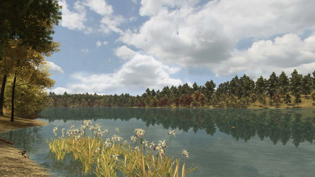 Screenshot from Walden: A Game