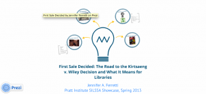 First Sale Decided by Jennifer A. Ferretti on Prezi.