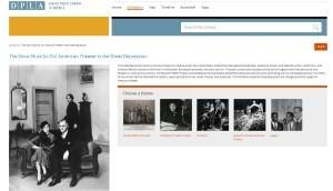 DPLA Homepage