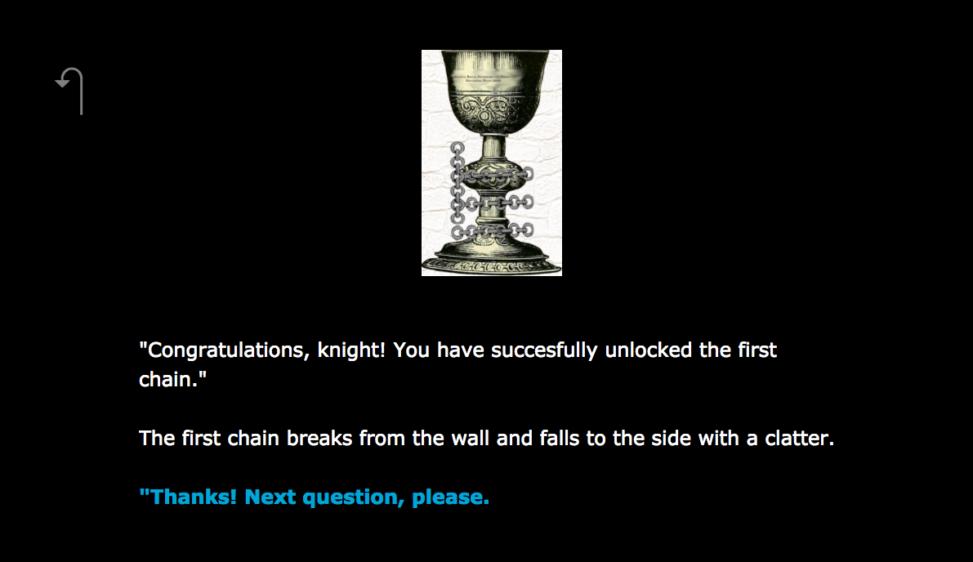 City tech Citation Grail Quest example