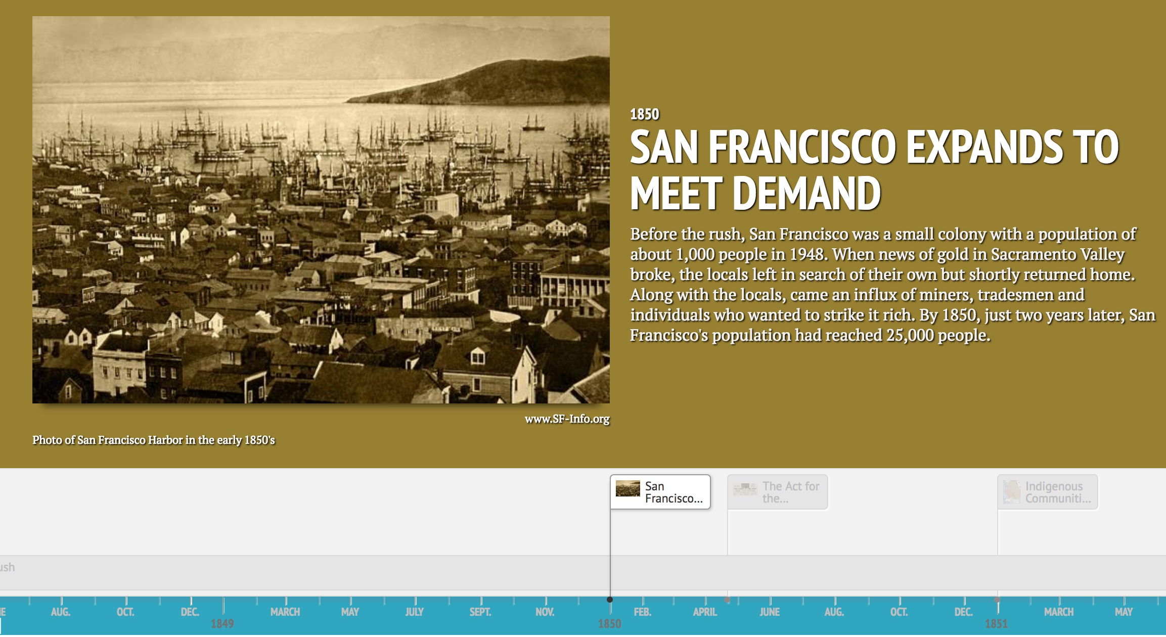 Image From Gold Rush Timeline
