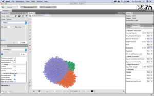 Building the network in Gephi